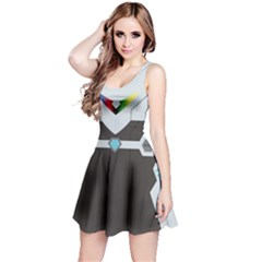 Rainbow Guardian Sleeveless Dress by NoctemClothing