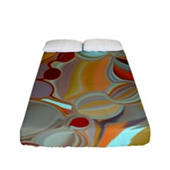 Liquid Bubbles Fitted Sheet (Full/ Double Size)