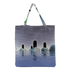Abstract Gates Doors Stars Grocery Tote Bag by Nexatart