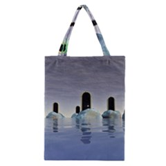 Abstract Gates Doors Stars Classic Tote Bag