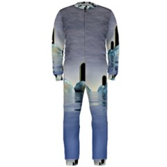 Abstract Gates Doors Stars Onepiece Jumpsuit (men)