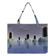 Abstract Gates Doors Stars Medium Tote Bag by Nexatart