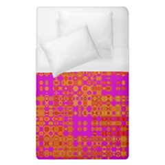 Pink Orange Bright Abstract Duvet Cover (single Size) by Nexatart
