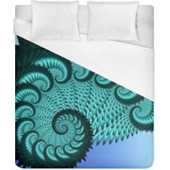 Fractals Texture Abstract Duvet Cover (california King Size) by Nexatart