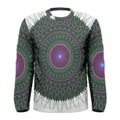 Pattern District Background Men s Long Sleeve Tee