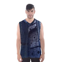 Graphic Design Background Men s Basketball Tank Top