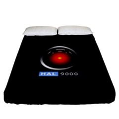 Hal 9000 Fitted Sheet (california King Size)