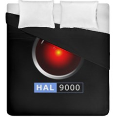 Hal 9000 Duvet Cover Double Side (king Size) by linceazul