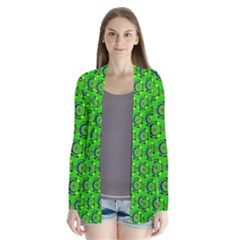 Abstract Art Circles Swirls Stars Cardigans
