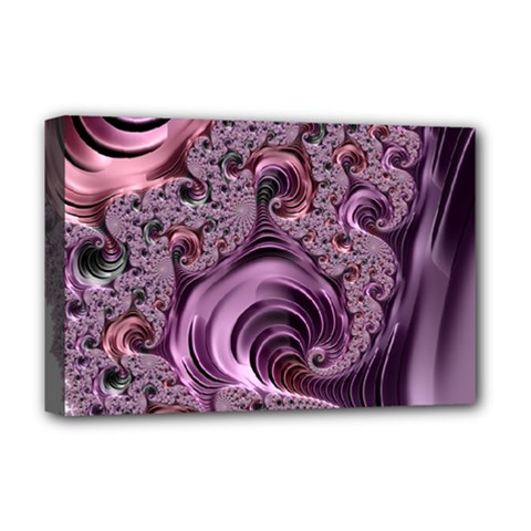 Abstract Art Fractal Art Fractal Deluxe Canvas 18  X 12   by Nexatart