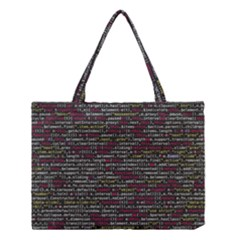 Full Frame Shot Of Abstract Pattern Medium Tote Bag by Nexatart