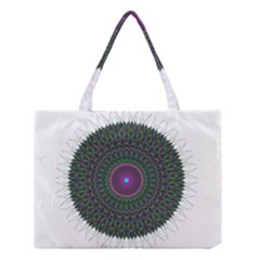 Pattern District Background Medium Tote Bag by Nexatart