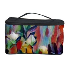 Abstractionism Spring Flowers Cosmetic Storage Case by DeneWestUK