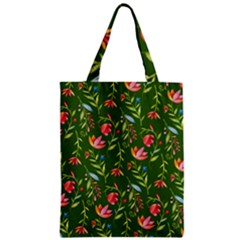 Sunny Garden I Zipper Classic Tote Bag by tarastyle