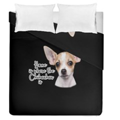 Chihuahua Duvet Cover Double Side (queen Size)