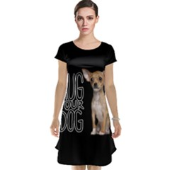 Chihuahua Cap Sleeve Nightdress by Valentinaart