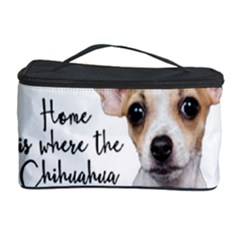 Chihuahua Cosmetic Storage Case by Valentinaart