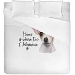 Chihuahua Duvet Cover Double Side (king Size)