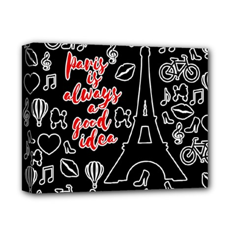Paris Deluxe Canvas 14  X 11  by Valentinaart