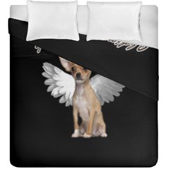 Angel Chihuahua Duvet Cover Double Side (king Size)