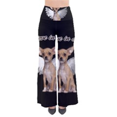 Angel Chihuahua Pants by Valentinaart