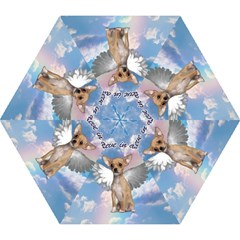 Angel Chihuahua Mini Folding Umbrellas by Valentinaart