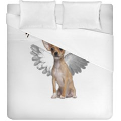 Angel Chihuahua Duvet Cover (king Size)