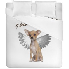 Angel Chihuahua Duvet Cover Double Side (california King Size)
