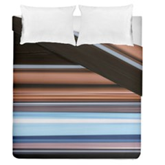 Color Screen Grinding Duvet Cover Double Side (queen Size) by Nexatart