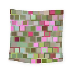 Color Square Tiles Random Effect Square Tapestry (small)