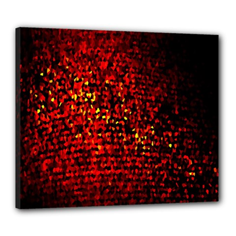 Red Particles Background Canvas 24  X 20