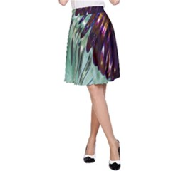 Out Of Time Glass Pearl Flowag A Line Skirt
