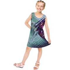 Out Of Time Glass Pearl Flowag Kids  Tunic Dress by Nexatart