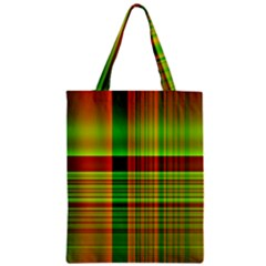 Multicoloured Background Pattern Zipper Classic Tote Bag by Nexatart