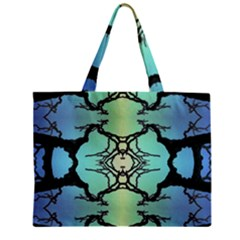 Branches With Diffuse Colour Background Zipper Mini Tote Bag