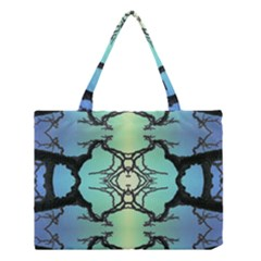 Branches With Diffuse Colour Background Medium Tote Bag by Nexatart