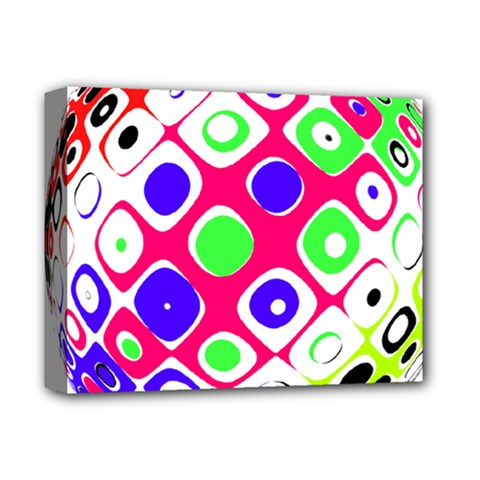 Color Ball Sphere With Color Dots Deluxe Canvas 14  X 11  by Nexatart