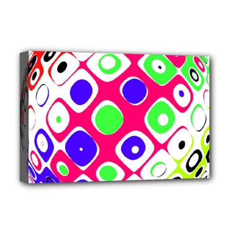 Color Ball Sphere With Color Dots Deluxe Canvas 18  X 12   by Nexatart