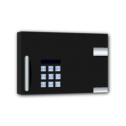 Safe Vault Strong Box Lock Safety Mini Canvas 6  X 4  by Nexatart
