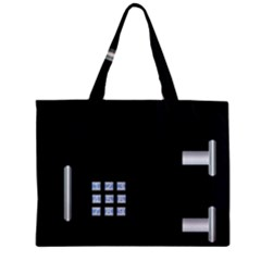 Safe Vault Strong Box Lock Safety Zipper Mini Tote Bag by Nexatart