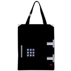 Safe Vault Strong Box Lock Safety Zipper Classic Tote Bag by Nexatart