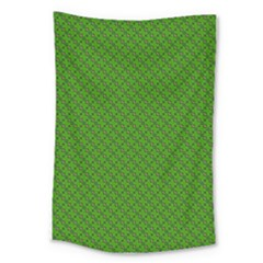 Paper Pattern Green Scrapbooking Large Tapestry by Nexatart