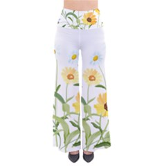Flowers Flower Of The Field Pants by Nexatart