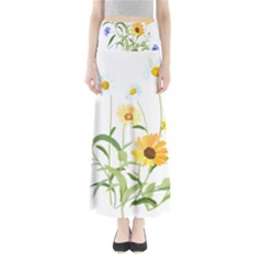 Flowers Flower Of The Field Maxi Skirts