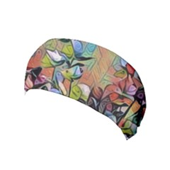 Spring Flowers Magic Cube Yoga Headband