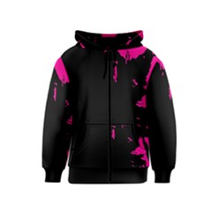 Abstraction Kids  Zipper Hoodie
