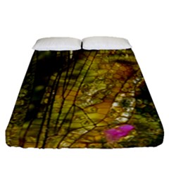 Dragonfly Dragonfly Wing Insect Fitted Sheet (queen Size) by Nexatart