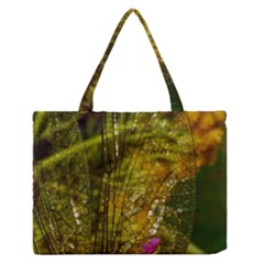 Dragonfly Dragonfly Wing Insect Medium Zipper Tote Bag by Nexatart