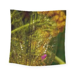 Dragonfly Dragonfly Wing Insect Square Tapestry (small) by Nexatart