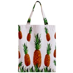Pineapple Print Polygonal Pattern Classic Tote Bag by Nexatart